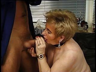 German Mature Granny Fucks