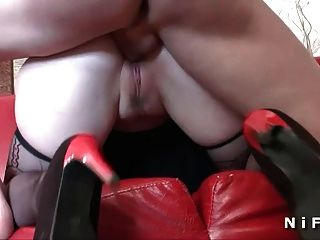 French Whore Anal Fucked And Dp In Threeway