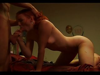 Redhead Fucked And Facialized