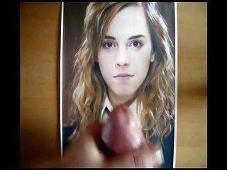 01.05 - Cum Tribute On  Emma Watson