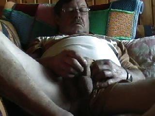 Auf Der Lust Couch Am Entspannnen