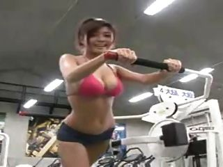 Hot Asain Workout!
