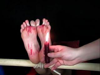 Candle Flame Torture Cum Soles