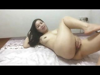 Chinese Girl Playing With Herself