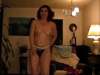 Arab Housewife Stripping