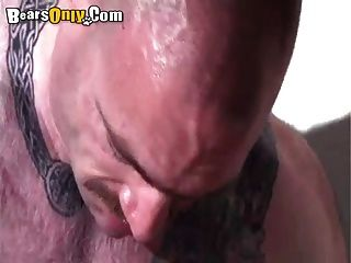 Tattooed Beefy Dad Dog Style Fuck