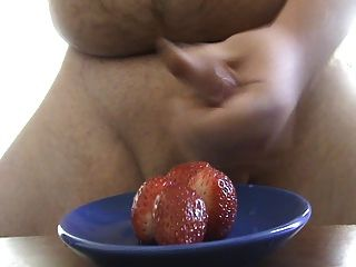 Cum On Food - Strawberry