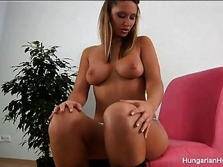 Hot Girl Fucking Herself Good