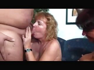 Two Kinky Matures In A Threesome