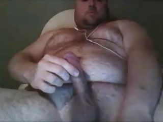 Handsome Guy With Hot Hairy Chest