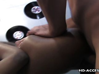 Sweet Hot Ebony With A Big Ass Rides A Dick