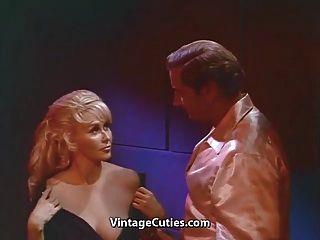 Big Boobs On A Blonde Milf (1960s Vintage)