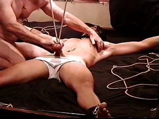 Cbt Ball Stretching Cum 4 Hot Young Dude