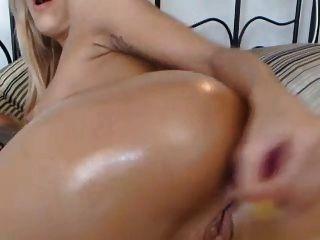 Webcam Girl Dildo Her Ass (anal)
