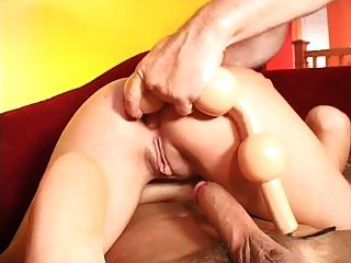Kelly Double Anal Gangbang