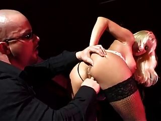 German Blonde Stripper Fucked In The Ass