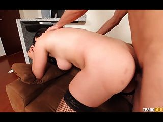 Luz Adriana Loves Herself A Dick In Her Tight Ass