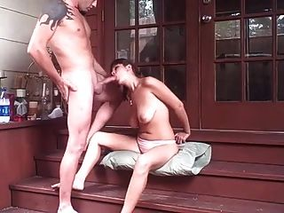 Fucking On The Porch