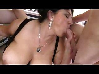 Amateur - Big Boob Mature Squirting Mmf Threesome