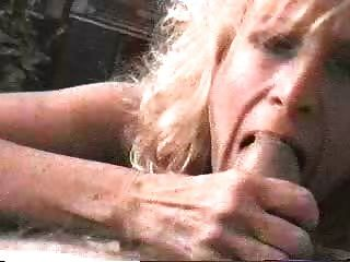 Mature Milf Sucking Uncut Dick While Cumming