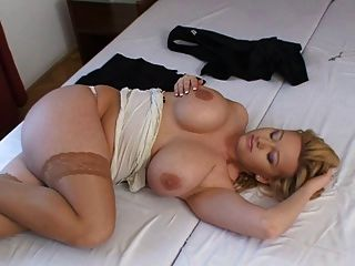 Stunning Big Tit Blonde