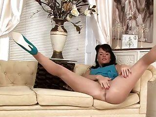 Silky Sheer Pantyhose Fun