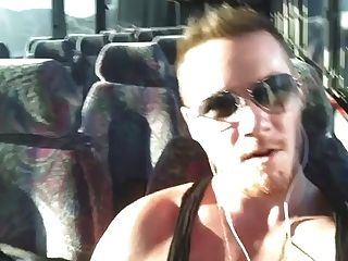 Str8 Jerk Off In Bus