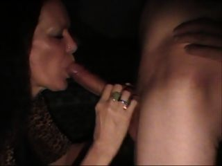 Wife Takes A Long Cock In Her Mouth