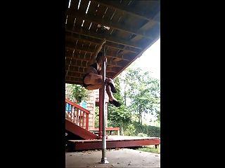 Alternative Girl Pole Dancer