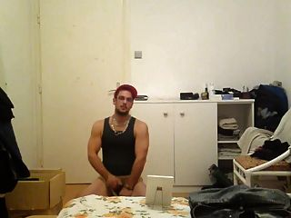 Str8 Country Men Stroking For His Wife