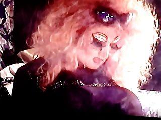 Ott Drag Tv Smoking With Long Nails.