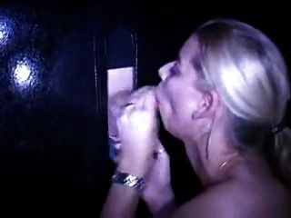 German Blonde Gloryhole :)