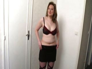 Julie A French Chubby Milf Anal Fucked