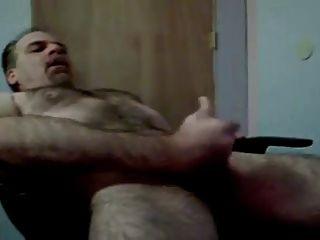 Daddy Bear Jerking It