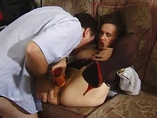 Big Titted Milf Gets A Little Of Everything.