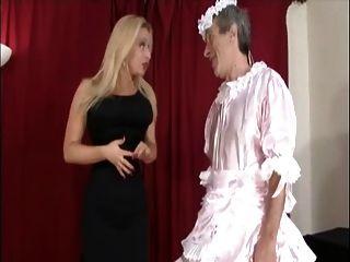 Mistress Dressed Up Slave