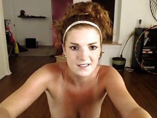 Ginger Gets Oiled Up