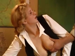Blonde Russian Teacher Anal In Class.