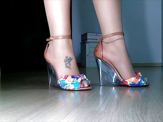 Tan Stockings Designer Sandals Enj0y