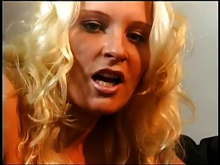 Blond With Long Nails Blows