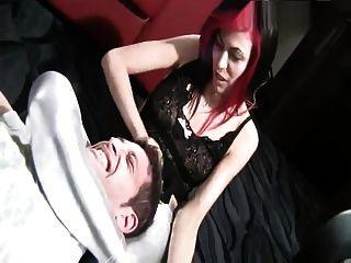 Punk Girl - Scissors And Handjob