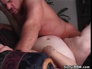 Bbw Sindee Williams Gets Jizz On Her Belly Button