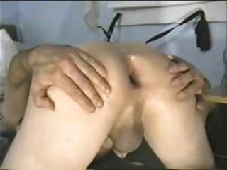 Hubby Has His Ass Gaped By Wife