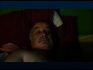 Chubby Grandpa Wanking And Cumming