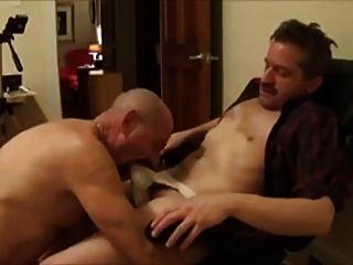 Daddy Seduces Straight Friend