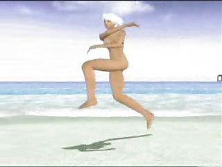 Christie Doa Nude At Beach Video