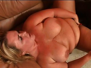 Big Blond Babe Takes A Bbc
