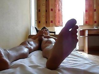 Feet And Taste My Cum
