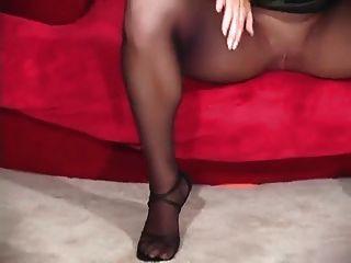 Black Pantyhose Tease