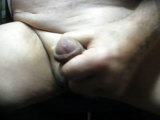 69 Yrold Grandpa #180 Mature Cum Close Closeup Wank Uncut